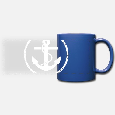 Nautical Anchor And Rope Full Color Mug Spreadshirt