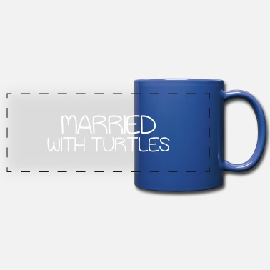 Pet Married With Turtles Pet Lover - Full Color Panoramic Mug