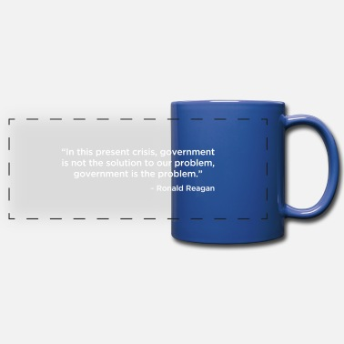 RIP US Constitution Back - Full Color Panoramic Mug