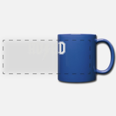 Adhd ADHD - Full Color Panoramic Mug