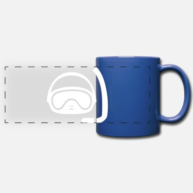 Diving Mask Diving Mask - Full Color Panoramic Mug