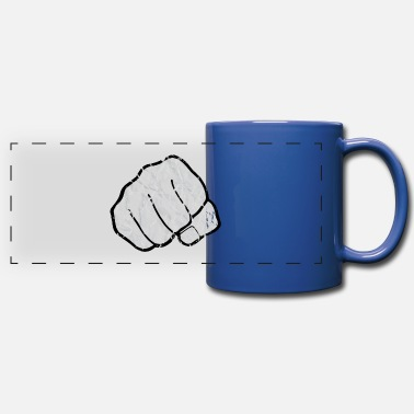 Sparring Fist Used-Look - Full Color Panoramic Mug