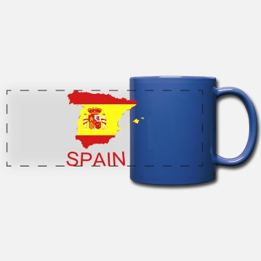 Spain spain - Full Color Panoramic Mug