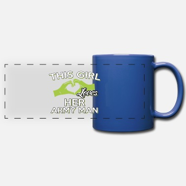 Army Man THIS GIRLS LOVES HER ARMY MAN - Full Color Panoramic Mug