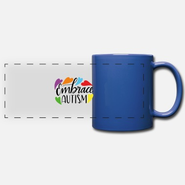 Embrace Autism Embrace autism - Full Color Panoramic Mug