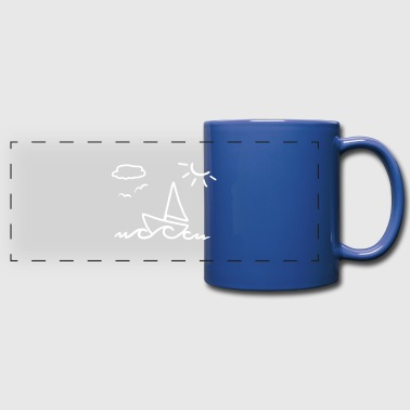 Sailing - Full Color Panoramic Mug