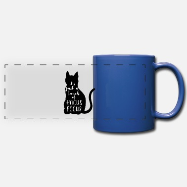 It's just a bunch of hocus pocus. Halloween cat - Full Color Panoramic Mug