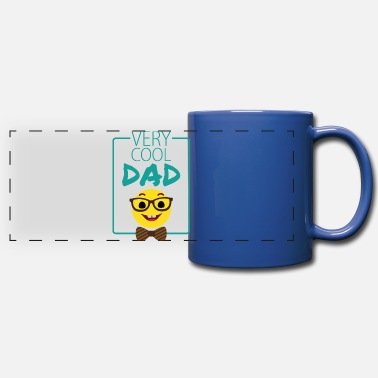 Daughter Very cool dad gift fathers day saying birthday - Full Color Panoramic Mug