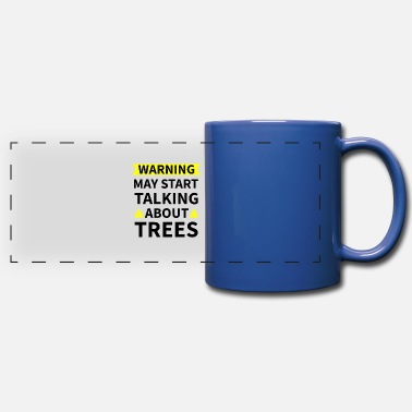 Funny Arborist Gifts | Tree Climber Lumberjack Logger - Full Color Panoramic Mug