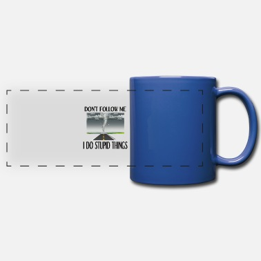 Meteorology Storm Chaser Gift Hurricane Storm Tornado Chasing - Full Color Panoramic Mug
