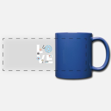 Film LOVE Film Editor - Full Color Panoramic Mug