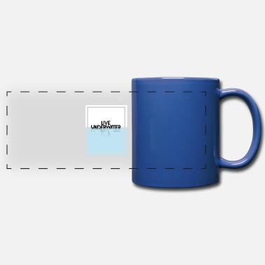 Jet Underwater water sport / Diving swimming gift idea - Full Color Panoramic Mug