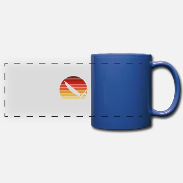 Skipper Catamaran Sunset - Full Color Panoramic Mug