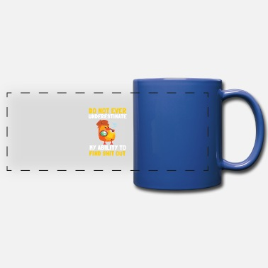 Crime Sleuth Detective Spy Private Investigator Agent - Full Color Panoramic Mug