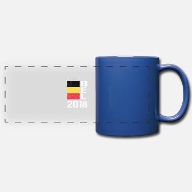 BELGIUM 2018 Shirt BEL 2018 Soccer Football Fan - Full Color Panoramic Mug