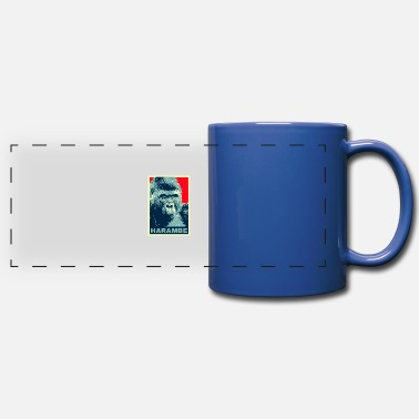 gorilla - Full Color Panoramic Mug
