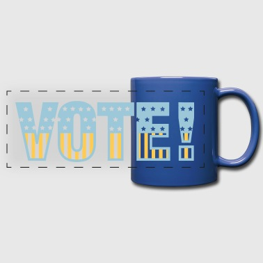 Vote - Full Color Panoramic Mug