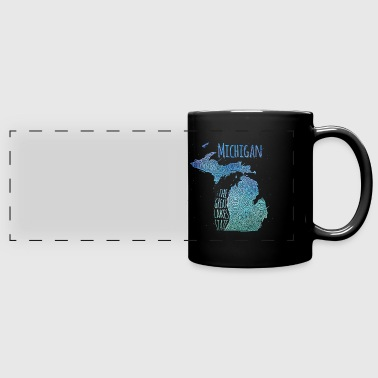 Michigan - Full Color Panoramic Mug