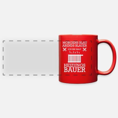 Heat Heating engineer Heating construction Heating inst - Full Color Panoramic Mug
