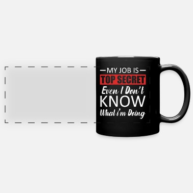 Workspace Job Jobs Employee Workspace Funny Humor Boss - Full Color Panoramic Mug