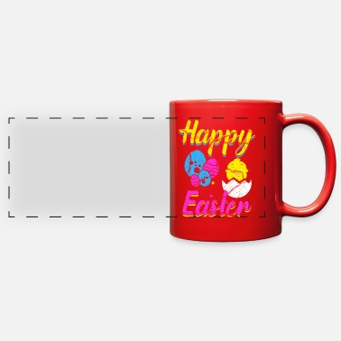 Easter Eggs Easter Egg - Full Color Panoramic Mug