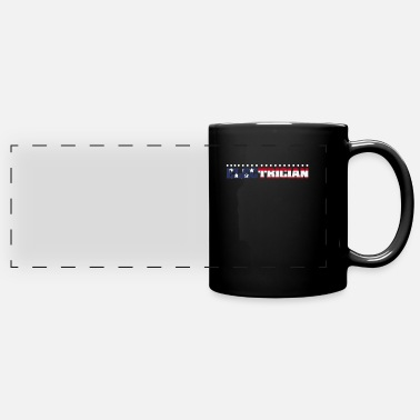 Electricity Electrician Electrical Electricity Electric Job - Full Color Panoramic Mug
