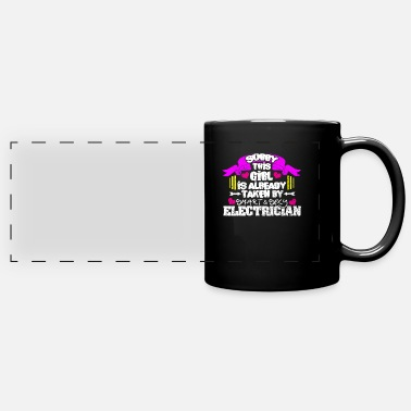Lightning Electrician - Full Color Panoramic Mug