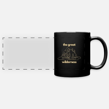 Espace Escaping The City for The Great Wilderness - Full Color Panoramic Mug