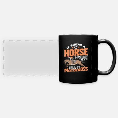 Horseriding horseriding - Full Color Panoramic Mug