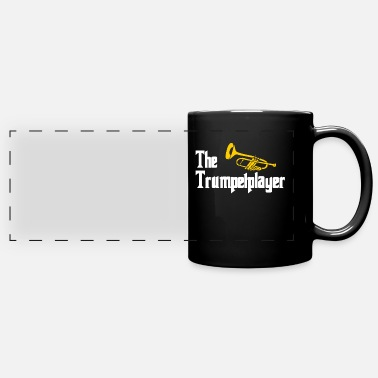 Bass Player Trumpet - Full Color Panoramic Mug
