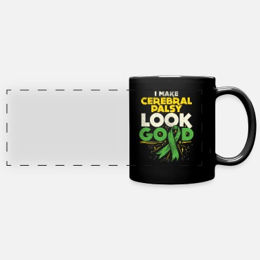 Spastic Cerebral Palsy Palsy Look Good - Full Color Panoramic Mug