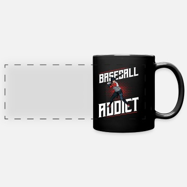 Cool Baseball Baseball Addict Cool Baseball Player Statement - Full Color Panoramic Mug