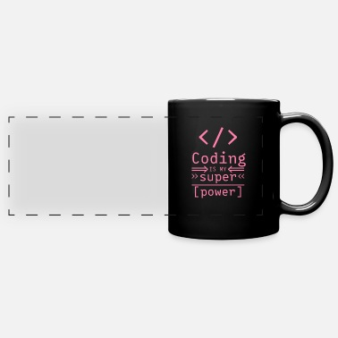 Code Coding Coding Coding Coding - Full Color Panoramic Mug