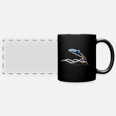 Creature Whale - Full Color Panoramic Mug