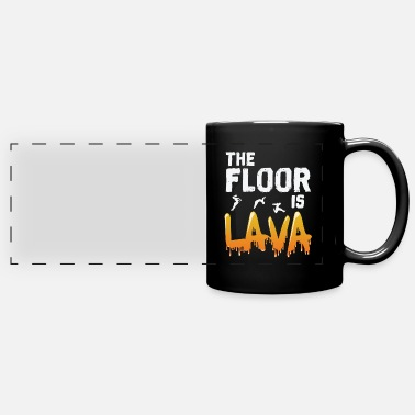 Transport The Floor is Lava - Full Color Panoramic Mug