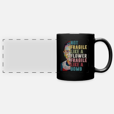 Bomb Not Fragile Like A Flower Fragile Like A Bomb - Full Color Panoramic Mug