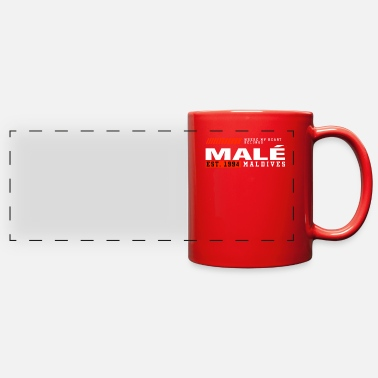 Fantastic Epic Maldives Gift Idea - Full Color Panoramic Mug