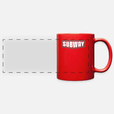 Transport Subway - Full Color Panoramic Mug