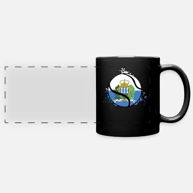 City San Marino TENNIS SAN MARINO - Full Color Panoramic Mug