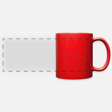 Jersey Number ONE HUNDRED SIXTY FOUR - Full Color Panoramic Mug