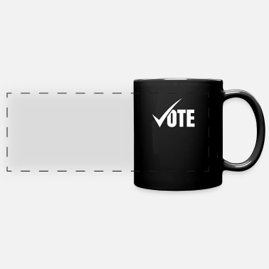 Election Campaign Vote Voting Campaign Election Voter - Full Color Panoramic Mug