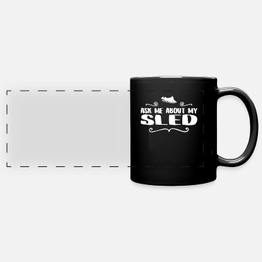 Vehicle SLED RIDER - Full Color Panoramic Mug
