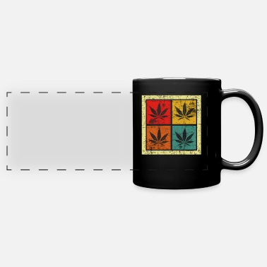 Hemp Leaf Hemp leaf - Full Color Panoramic Mug