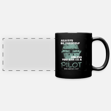 Pilot Pilot - Full Color Panoramic Mug