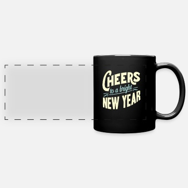New Year New Year New Year's Eve - Full Color Panoramic Mug