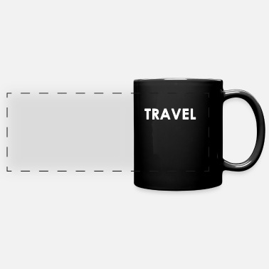Travelling Travel Traveling Traveller Gift - Full Color Panoramic Mug