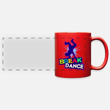 Break Dance Break Dance - Full Color Panoramic Mug