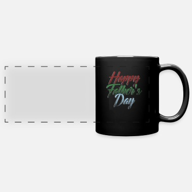 Father To Be Happy Fathers Day Fathers Day Father To Be Gift - Full Color Panoramic Mug