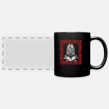 Out embalmer Funeral Director Death Cementery Gift - Full Color Panoramic Mug