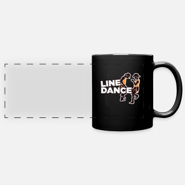 Boot Line Dance Line Dancing Cowboy Boots Country Gift - Full Color Panoramic Mug